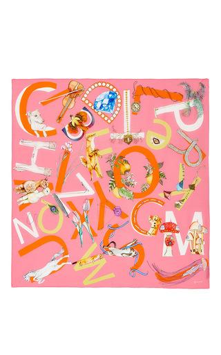Medium swash london pink pink multi scarf