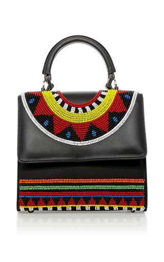 Medium les petits joueurs black mini alex africa handbag