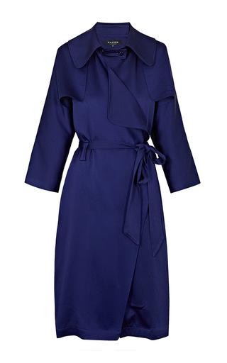Medium paper london blue mac coat