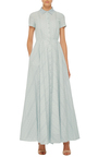 Short Sleeve Maxi Dress by LUISA BECCARIA Now Available on Moda Operandi