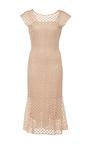 Sleeveless Shift Dress by LUISA BECCARIA Now Available on Moda Operandi