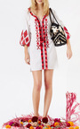 Clean White Tula Dress by FIGUE Now Available on Moda Operandi