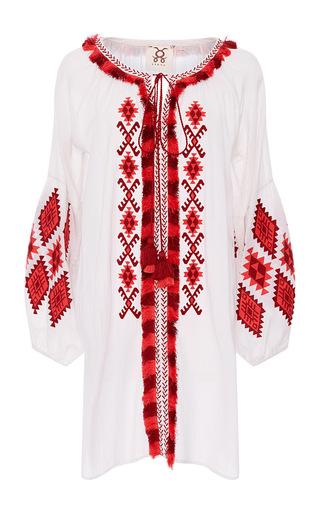 Medium figue white clean white tula dress