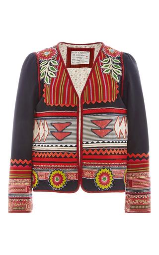 Medium alix of bohemia black one of a kind the inca jacket