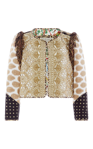 Medium alix of bohemia gold one of a kind the golden goose jacket