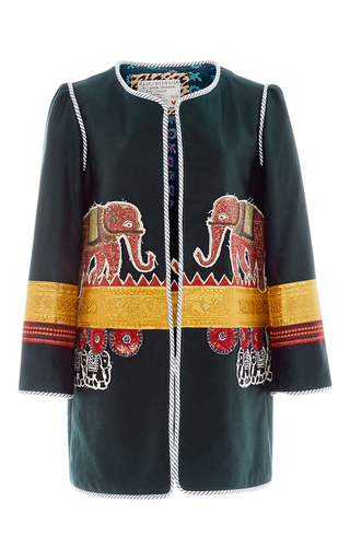 One Of A Kind The Raj Coat by ALIX OF BOHEMIA Now Available on Moda Operandi