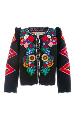 Medium alix of bohemia black one of a kind the cecilia jacket