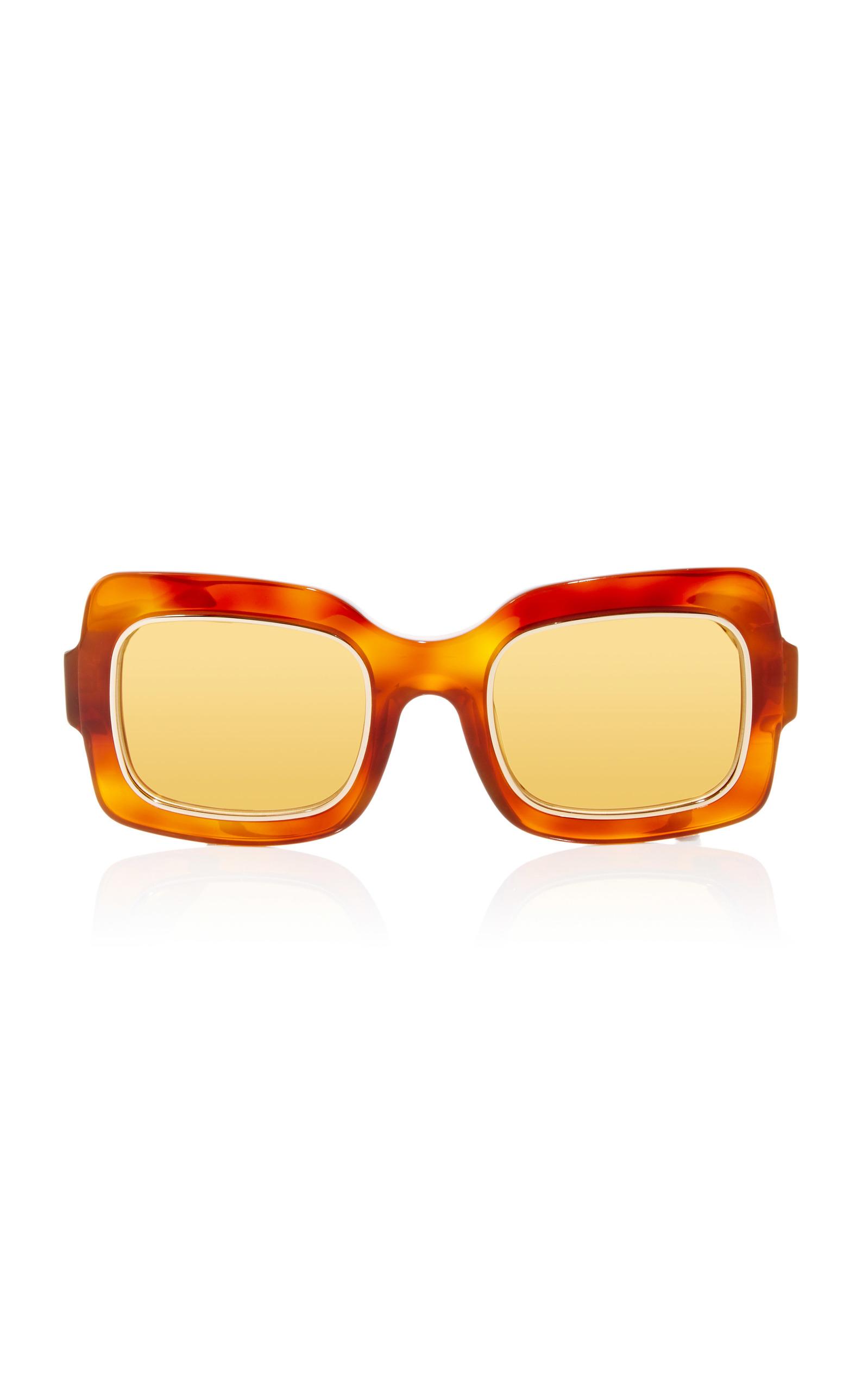 N°01 Caramel Acetate Sunglasses
