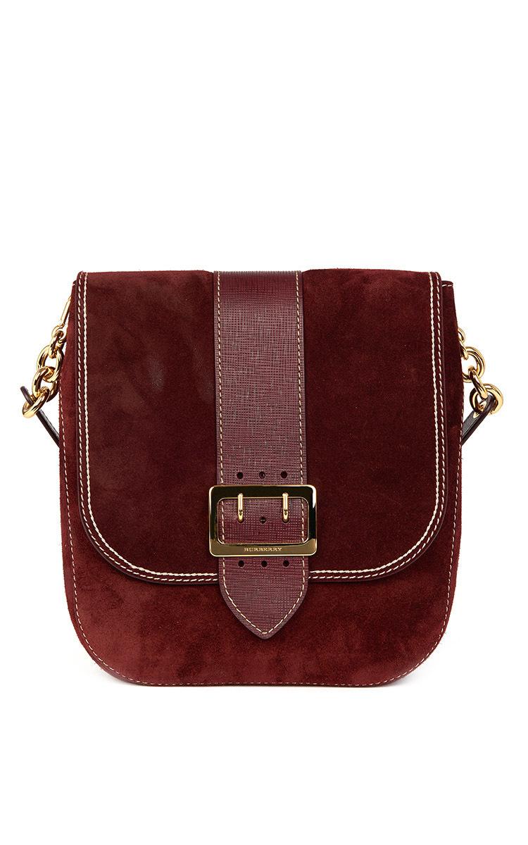 bc6875c06277 BurberrySuede Satchel Bag. CLOSE. Loading