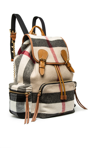 Prorsum Check Rucksack by BURBERRY Now Available on Moda Operandi