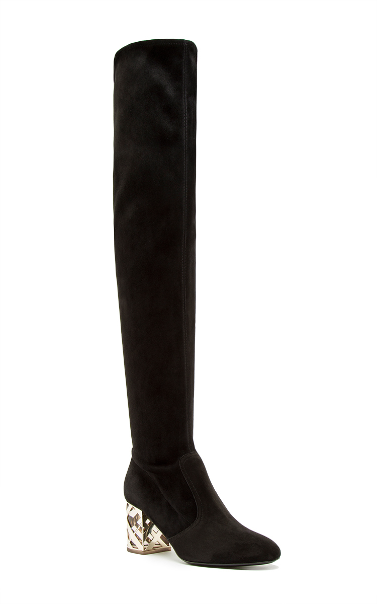 fdee81e2bb8 BurberryKidskin Cranleight Over-the-Knee Boot. CLOSE. Loading