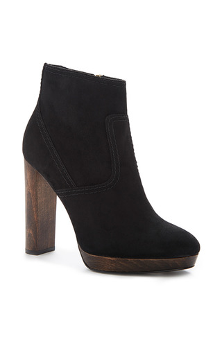 Medium burberry black hazelhurst platform ankle boots