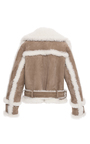 Oversized Shearling Biker Jacket by BURBERRY Now Available on Moda Operandi