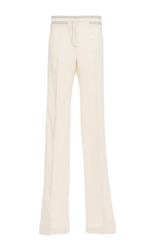 Medium burberry white tailored twill bootcut trouser
