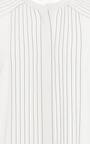 Regimental Pleat Cape Sleeve Blouse by BURBERRY Now Available on Moda Operandi