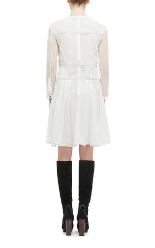 Silk Crepon Drop Waist Dress by BURBERRY Now Available on Moda Operandi