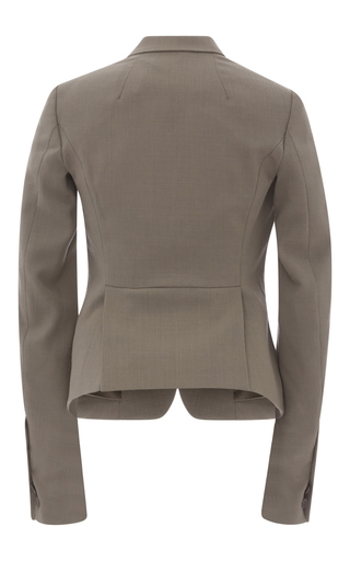 Wool Tuxedo Blazer by RICK OWENS Now Available on Moda Operandi
