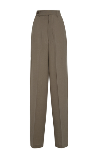 Medium rick owens dark grey astaire wide leg pants
