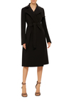 Dean Neoprene Wrap Trenchcoat by RICK OWENS Now Available on Moda Operandi