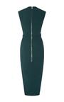 Dovima Midi Pencil Dress by RICK OWENS Now Available on Moda Operandi