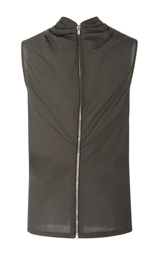 Bonnie Sleeveless Top by RICK OWENS Now Available on Moda Operandi