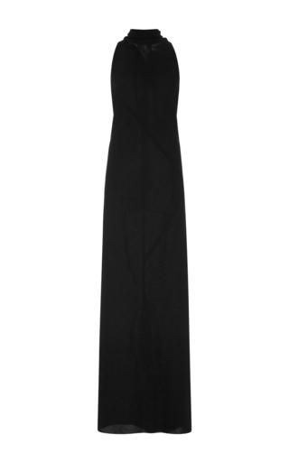 Medium rick owens black sleeveless maxi dress