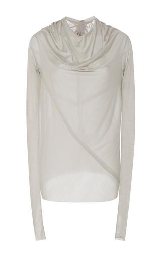 Medium rick owens light grey bonnie long sleeve tshirt