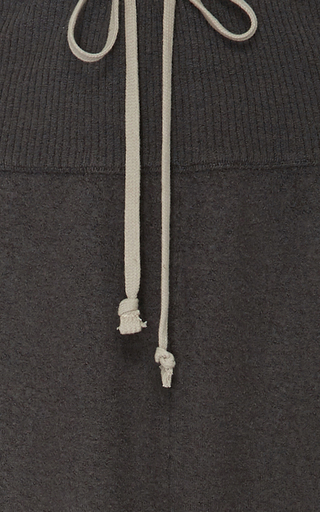 Cashmere Drawstring Pants by RICK OWENS Now Available on Moda Operandi