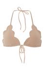 Broadway Scallop Edged Bikini Top  by MARYSIA SWIM Now Available on Moda Operandi