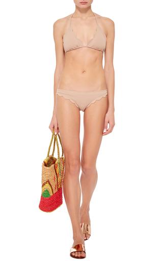 Broadway Scallop Edged Bikini Bottoms by MARYSIA SWIM Now Available on Moda Operandi
