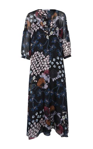 Medium dorothee schumacher black airy florals dress