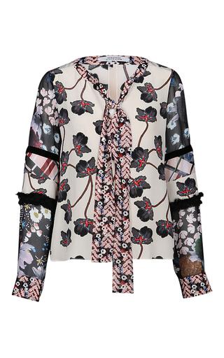 Medium dorothee schumacher nude nude recomposed flora blouse