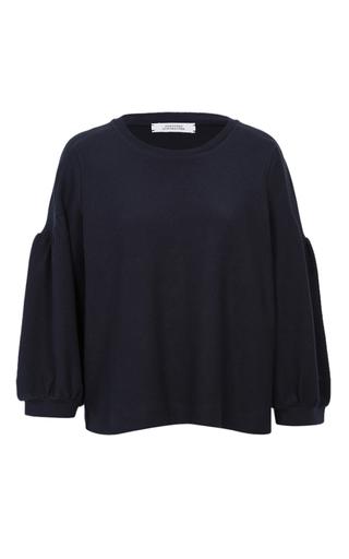 Medium dorothee schumacher blue smart volumes sweater