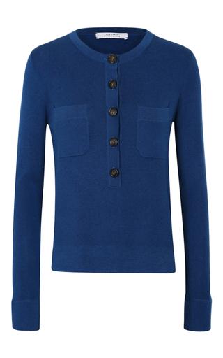 Medium dorothee schumacher blue delicate benefits pullover