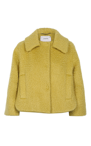 Medium dorothee schumacher yellow imaginary volume jacket