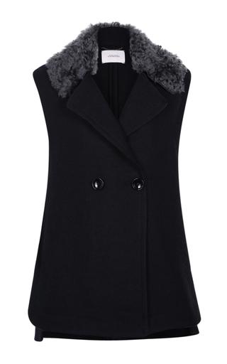 Medium dorothee schumacher navy magnified volume vest