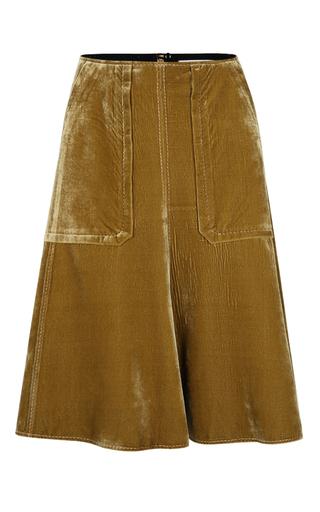 Medium dorothee schumacher yellow sensitive softness skirt