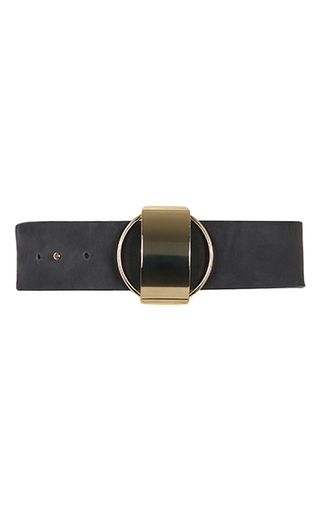 Medium dorothee schumacher black metal coolness belt