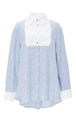 Medium macgraw light blue blue pony shirt