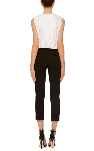Slim Cropped Pants by ATM Now Available on Moda Operandi
