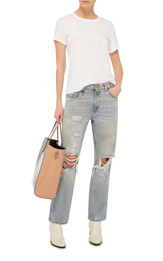 Crew Neck T Shirt by ATM Now Available on Moda Operandi