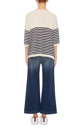 Striped Cashmere Sweater by ATM Now Available on Moda Operandi