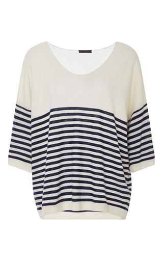 Medium atm stripe striped cashmere sweater