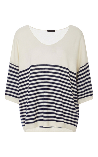 Medium atm stripe striped cashmere sweater