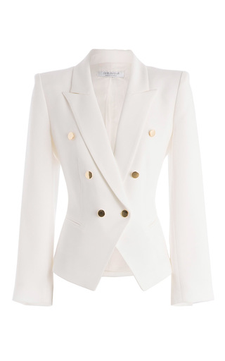 Medium carla zampatti white camille jacket
