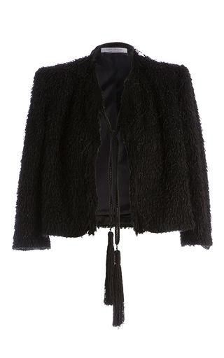 Medium carla zampatti black antibet cardigan