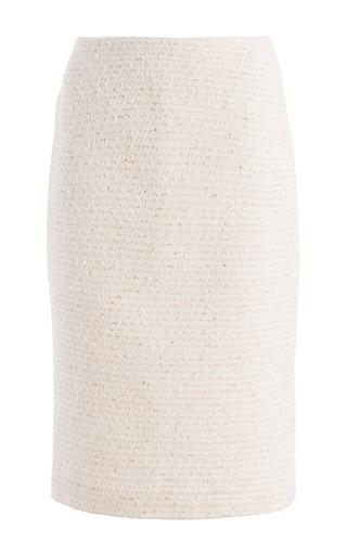 Medium carla zampatti ivory jackie skirt