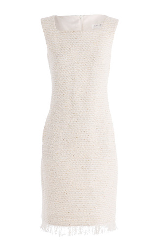 Medium carla zampatti ivory jackie shift dress