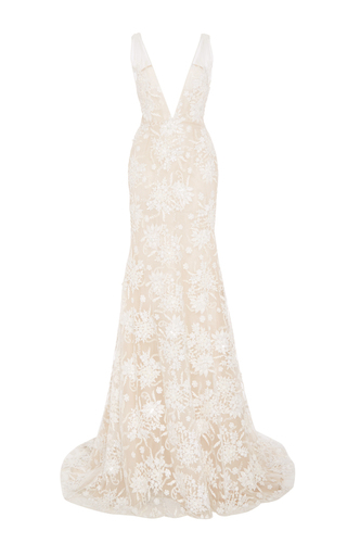 Medium naeem khan ivory the modena mto