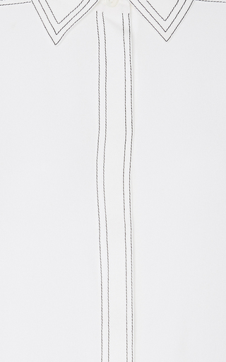 Contrast Stitch Shirt by BURBERRY Now Available on Moda Operandi